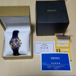 Watch Seiko X Jojo Collaboration Giorno Limited To 300 Used Good Condition F/s