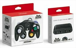Nintendo Gamecube Controller Super Smash Bros And Switch Adapter Set Official Jp