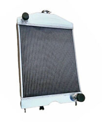 56mm Radiator For Ford 2n/8n/9n Tractor W/chevy 350 5.7l V8 Engine 1928-52