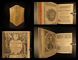 1634 Chronici Zelandiae Netherlands Zeeland Myths Dutch History Jacob Eyndius