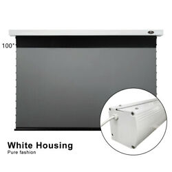 100 Home Office Electric Drop Down Ultra Short Throw Alr Laser Projector Screen