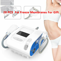 2-1 Fat Freezing Double Chin Cellulite Removal Body Slimming Cold Freeze Vacuum