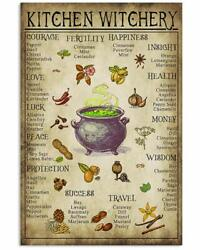 Inspirational Chef - Kitchen Witchery Jobs Posters Wall Decor Poster No Frame