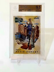 Kevin Durant 2016-17 Studio Downtown Bgs 9.5 With 3x Sub 10