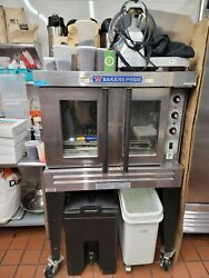 Bakers Pride Cyclone Convection Gas Oven Hose And Racks Incl Temp150anddegf-550anddegf