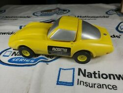 Pacesetter Yellow Corvette Decanter American Cream Sherry Collectable
