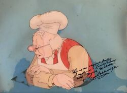 'busy Baker' 1940 Original Production Cel 'looney Tunes / Merrie Melodies''