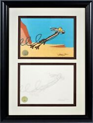 """""""chariots Of Fur"""" 1994 Original Production Drawing And 1 Of 1 Limited Edition Cel"""
