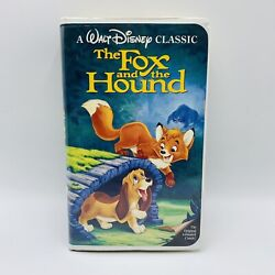Disney The Fox And The Hound Diamond Classic Vhs Tape