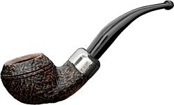 New Peterson Arklow 999 Bent Rhodesian Army 9mm Briar Pipe Sandblasted