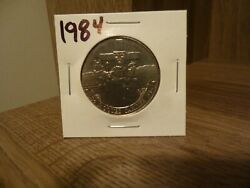 Canadian One Dollar Coin Date 1534/1984 Jacques Nice Coin-vg