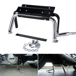 Heavy Duty Adjustable Center Stand Service For Harley Touring Glide Classic 99up