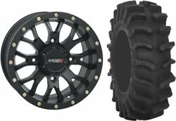Mounted Wheel And Tire Kit Wheel 20x6.5 4+2.5 4/156 Tire 35x9-20 8 Ply