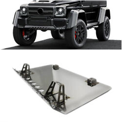 Mercedes G-wagon W463 G500 G55 G63 Front Bumper Skid Plate Guard Steel Cover