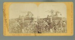 Minnesota Rpsv 1862 Indian Uprising Indians Guarding Corn Upper Sioux Agency