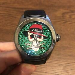 Corum Bubble Gang 888 Limited Automatic Watch Menand039s No132of888 From Japan F/s