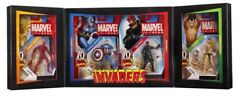 Marvel Universe Sdcc Exclusive Invaders 4-pack Human Torch/red Skull/namor/cap