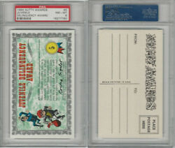 1964 Topps, Nutty Awards, 5 Juvenile Delinquency, Psa 8 Nmmt