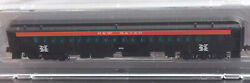 N Scale-micro Trains Nse 16-204 New Haven Passenger Coach 653 New Nse-mtl