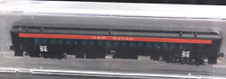 N Scale-micro Trains Nse 16-205 New Haven Passenger Coach 654 New Nse-mtl
