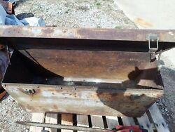 Potter Mfg. Co. Jackson Mich Model T A Other Rumble Seat Trunk Solid Read Desc.