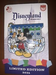 Disneyland Mickey Mouse Churro Annual Passholder Pin Series Le 3000 New