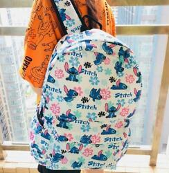 """liloamp;stitch white Backpacks School Backpack Casual Bag Travel Knapsack bags 17"""""""" $25.15"""