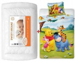 Baby Bedding Set For Toddler Bed 100x135cm For Cot Baby Crib Winnie The Pooh