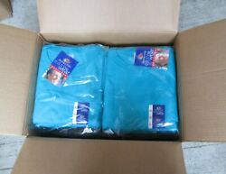 Women T-shirts Fruit Of The Loom 3xl 36 Pc 100 Heavy Cotton Turquoise Color