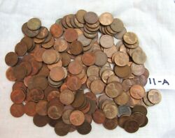 Lot 212 1953 Lincoln Copper Wheat Pennies From Estate Us Coins Unsearched