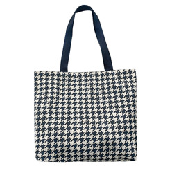 Houndstooth Women Canvas Tote Handbags Casual Shoulder Bag Shopping Bag $9.99