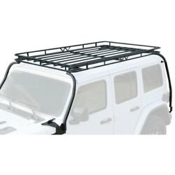 For Jeep Wrangler 2018-2020 Garvin 20074 Expedition Roof Cargo Basket