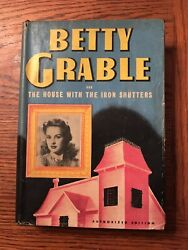 Betty Grable In The House With The Iron Shutters. Authorized Edition
