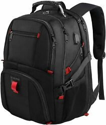 Travel Backpacks for Men Extra Large College School Laptop Bookbags with USB 17 $38.03