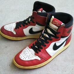 Nike Air Jordan Retro 1994 Vintage Red Chicago 130207-101 Size Us 8 With Box