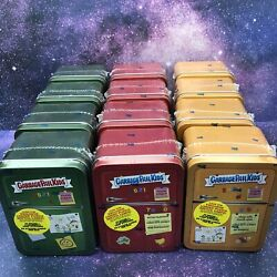 Garbage Pail Kids Food Fight Collector Tins Lot Of 12 New Sealed 2021 Topps
