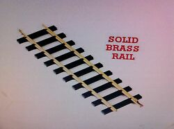 Usa Trains 81065 G Scale 60 Inch Straight Track Solid Brass Rail One Case 6 Pc