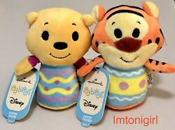 Disney Easter Pooh And Tigger Itty Bittys Winnie The Pooh By Hallmark