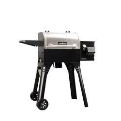 Woodwind Wifi 20 Pellet Grill Electrical Freestanding Cart Style Stainless Steel