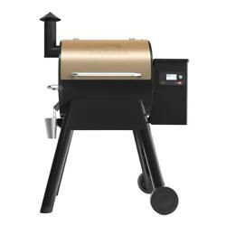 Traeger Pro 575 Pellet Grill Smoker Automatic Auger Wifi Grease Pan Steel Bronze