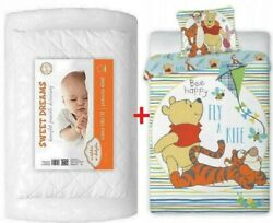 Baby Bedding Set For Toddler Bed 100x135cm For Cot Baby Crib Winnie The Pooh 4-1