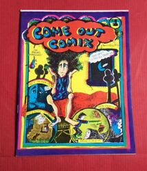 Come Out Comix, 3rd Printing-underground Comics Sci-fi/fantasy-1977-fn/vf