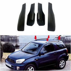 Black Top Roof Rack Luggage Carrier Cover For 2001-2005 Toyota Rav4 Suv 5-door