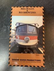 Brill Bullets And Red Arrow Lines Vhs