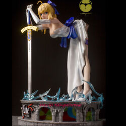 Hobbyhouse Fate Saber 1/4 Painted Resin Statue Figure Cast Off Model Led Light