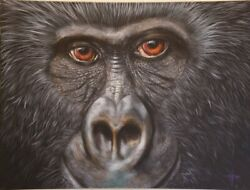In Every Jungleandnbsp30 X 24 Giclee On Canvas By Asian American Artist