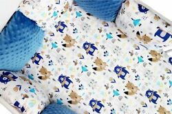 Pillow Bumper Toddler Bed Crib Bumpers 11pcs Sets Of Bedding For Cot Bed Teddy B