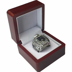 2012 La Kings Quick Nhl Stanley Cup Sp Brass Championship Ring And Wood Box