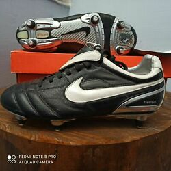 Nike Zoom Air Tiempo Legend Ii Sg Uk 7.5 Us 8.5 Football Boots Soccer Cleats
