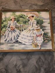 Latour Victorian French Oil Painting Canvas
